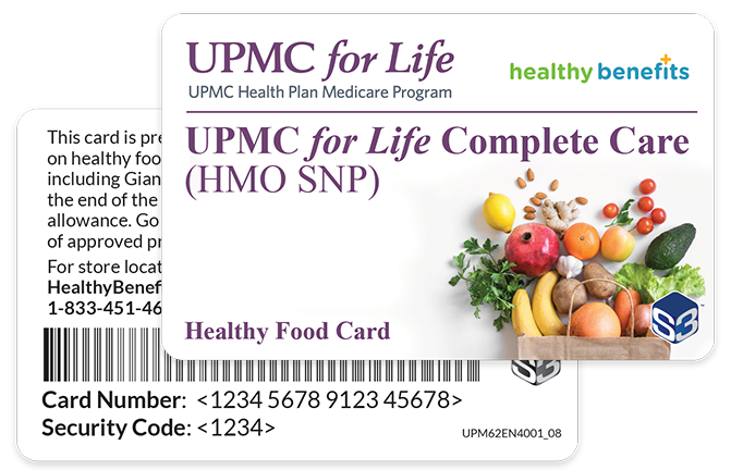 Nutrition Benefit Card